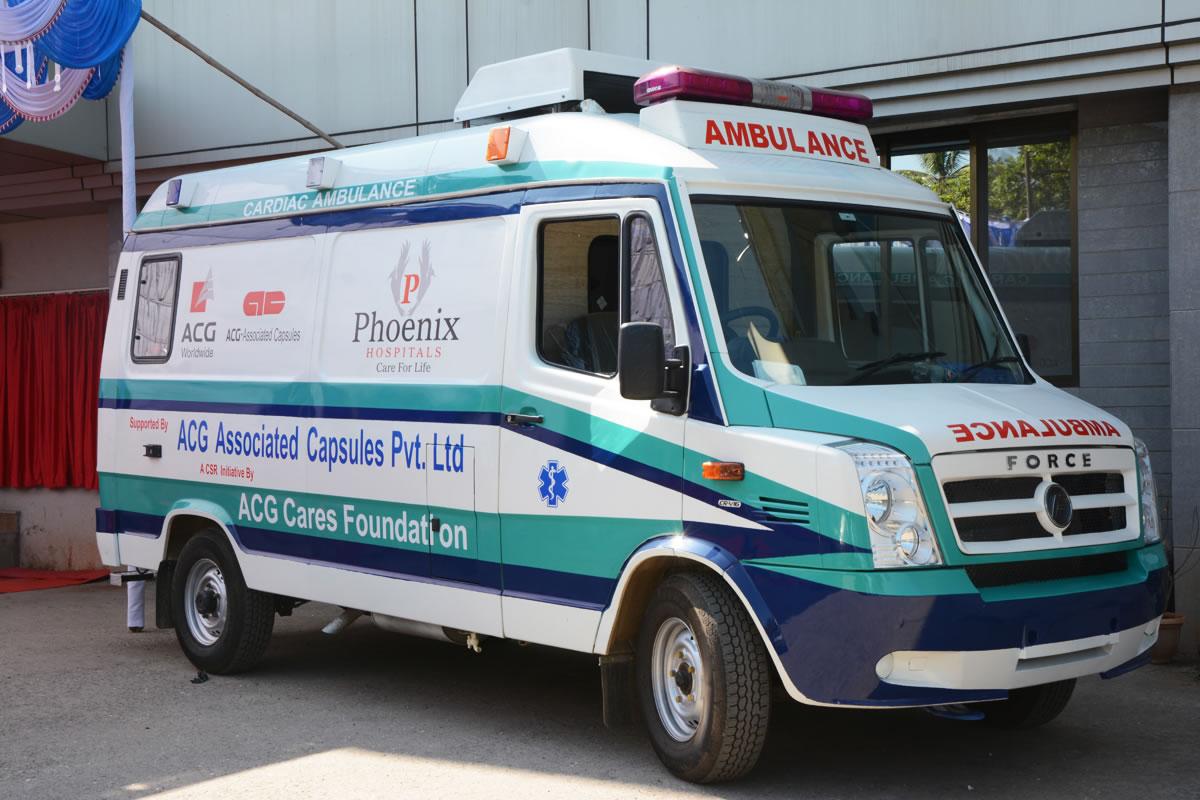 Ambulance services | Health | ACG CSR Foundation